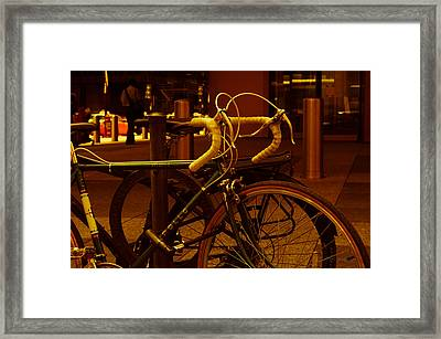 Bicyclette Framed Print by BandC  Photography