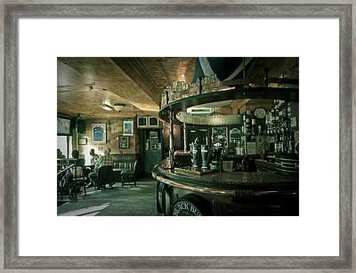 Biddy Mulligans Pub. Edinburgh. Scotland Framed Print by Jenny Rainbow