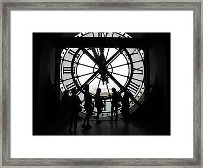 Biding Time Framed Print