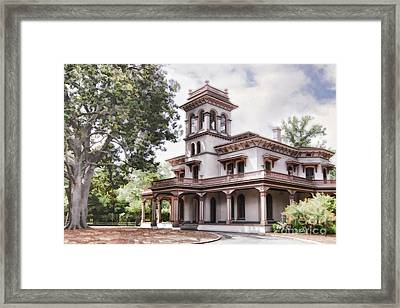 Bidwell Mansion Framed Print