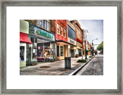 Bienville Books Framed Print by Michael Thomas