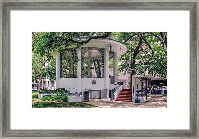 Bienville Square Framed Print by Rob Sellers