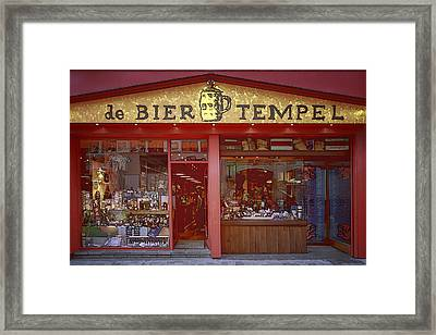 Bier Tempel Framed Print by Joan Carroll