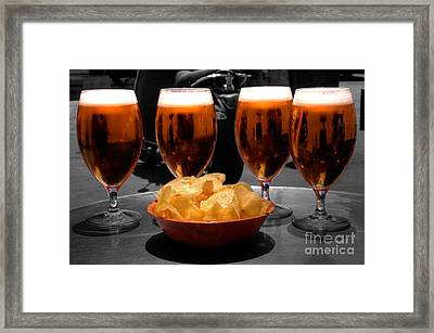 Biere Vier  Framed Print by Rob Hawkins