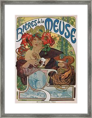 Bieres De La Meuse Framed Print by Charlie Ross
