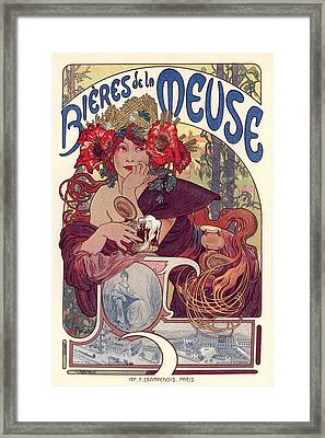 Bieres De La Meuse Framed Print by Gianfranco Weiss