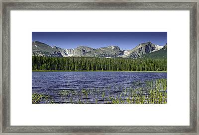 Bierstadt Lake Framed Print by Tom Wilbert
