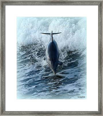 Big Air Framed Print by David Kovac