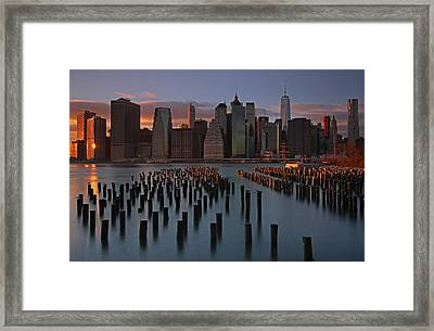 Big Apple Framed Print by Juergen Roth