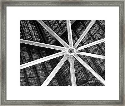 Big Ass Fan Framed Print by Jim Rossol