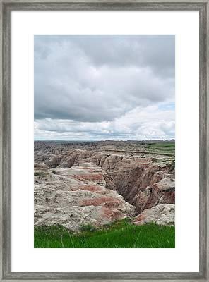 Big Badlands Overlook Framed Print