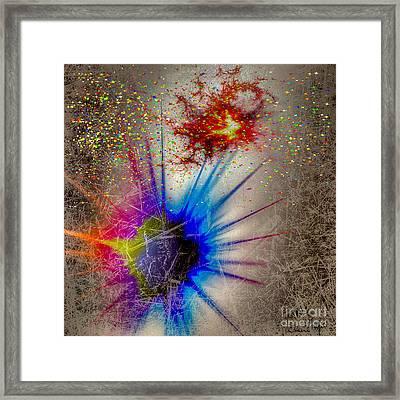 Big Bang Framed Print by Eleni Mac Synodinos