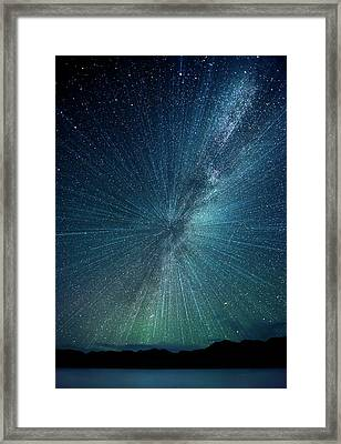 Big Bang Framed Print by Nimit Nigam