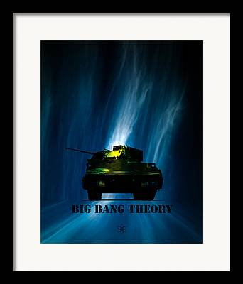 Army Tank Framed Prints