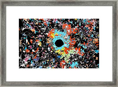 Big Bang Theory II Framed Print