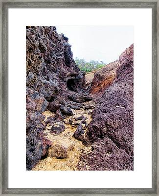 Big Beach 41 Framed Print