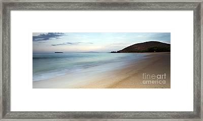 Big Beach Makena Maui Hawaii Framed Print