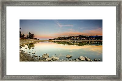 Framed Print featuring the photograph Big Bear Lake by Robert  Aycock