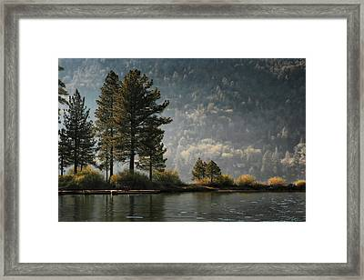 Big Bear Lake Scenic Framed Print