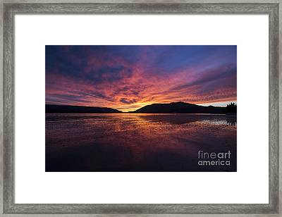 Big Bear Lake Framed Print