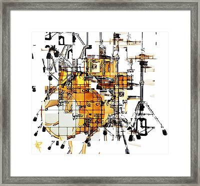 Big Beats Framed Print