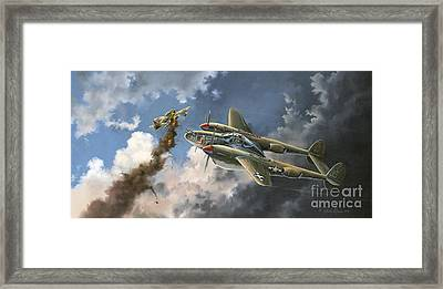 Big Beautiful Lass Framed Print by Randy Green