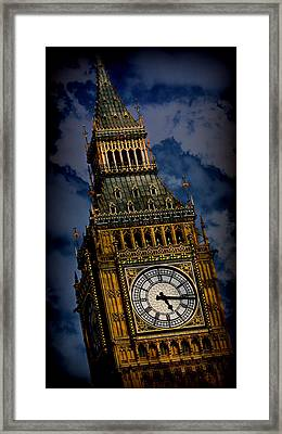Big Ben 5 Framed Print by Stephen Stookey