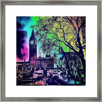 Big Ben Again!! Framed Print