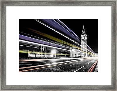 Big Ben And Westminster Framed Print