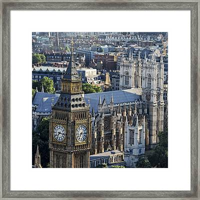 Big Ben And Westminster Framed Print