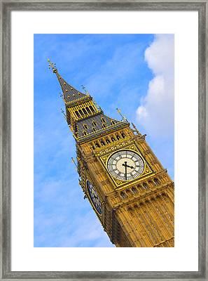 Big Ben - England Framed Print