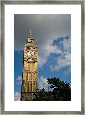 Framed Print featuring the photograph Big Ben by Jeremy Voisey