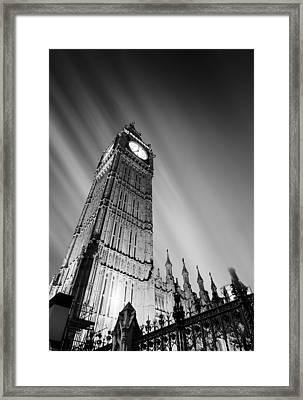 Big Ben London Framed Print by Ian Hufton
