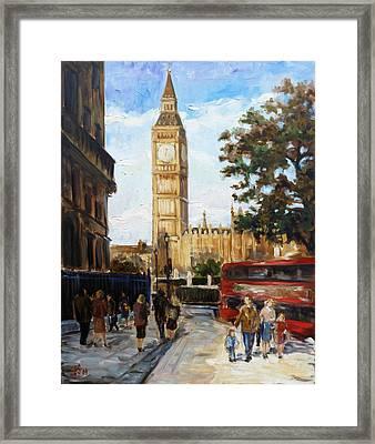 Big Ben - London Framed Print by Irek Szelag