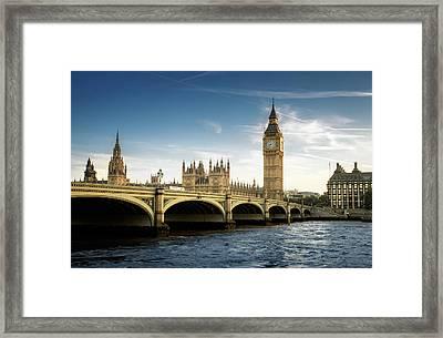 Big Ben, London Framed Print by Tangman Photography