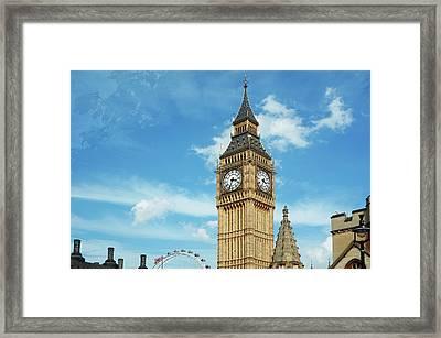 Big Ben, London, Uk Framed Print by Richgreentea