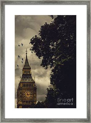 Big Ben Framed Print by Margie Hurwich