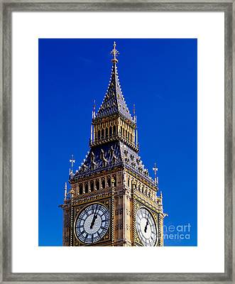 Big Ben Framed Print by Rafael Macia