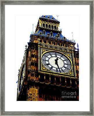 Big Ben Framed Print by Sophia Elisseeva