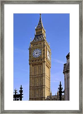 Framed Print featuring the photograph Big Ben by Stephen Anderson