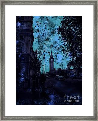 Big Ben Street Framed Print