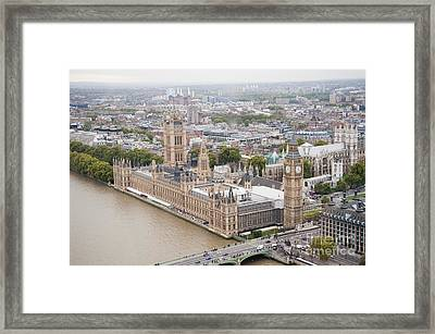 Big Ben Westminster Framed Print by Donald Davis