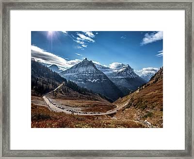 Big Bend Framed Print by Aaron Aldrich