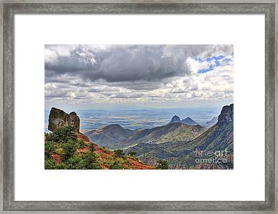 Big Bend National Park Framed Print by Jill Smith