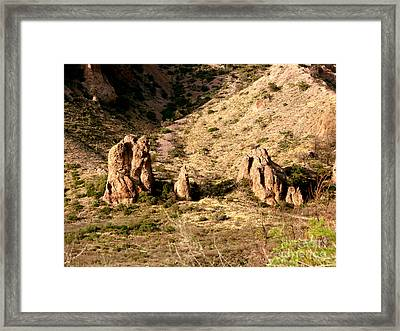 Big Bend Nativity Framed Print