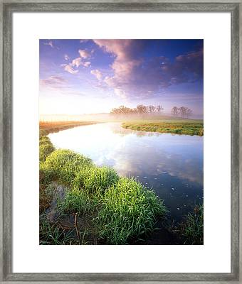 Big Bend Framed Print by Ray Mathis