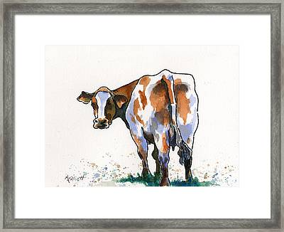 Big Bertha Framed Print by Marsha Elliott