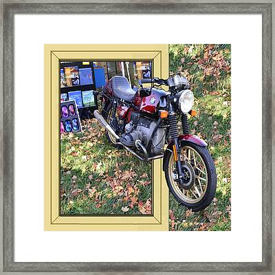 Big Bike Framed Print