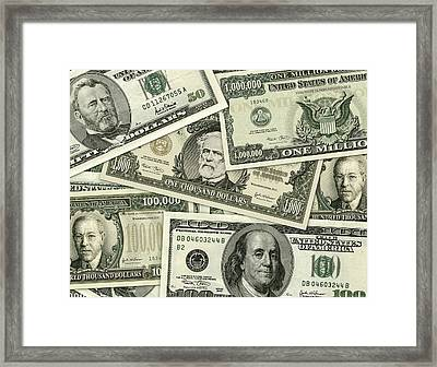Big Bills Framed Print