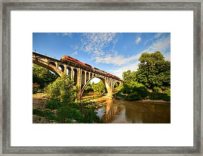 Big Black Bridge Framed Print